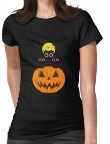 Jack O lantern & Owls Womens Fitted T-Shirt
