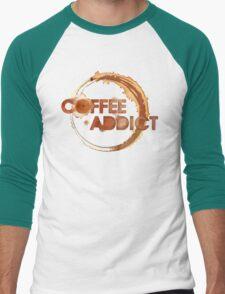 Coffee Addict Men's Baseball ¾ T-Shirt