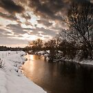 River Great Ouse near Cosgrove by David Isaacson