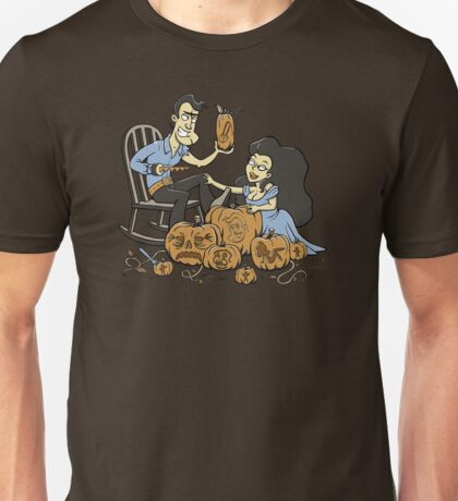 Army of carved pumpkins Unisex T-Shirt