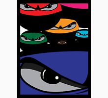 Multi-coloured ninjas collage Unisex T-Shirt