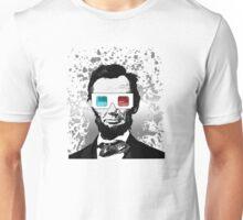 Abraham Lincoln - 3D (2) Unisex T-Shirt