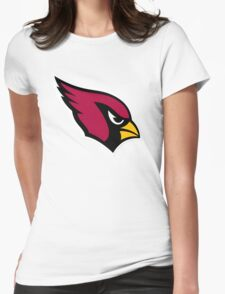 Arizona Cardinals logo 3 Womens Fitted T-Shirt