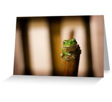 'Frog Leg' Greeting Card