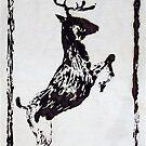 deer crossing by evon ski