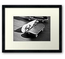 Skate passione Framed Print