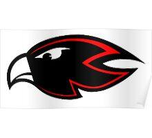 Atlanta Falcons logo 1 Poster