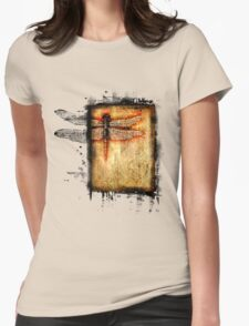 dragonfly paradox Womens Fitted T-Shirt