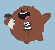 We Bare Bears Totoro by Infernoman