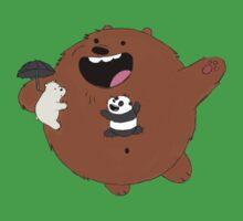 We Bare Bears Totoro Kids Clothes