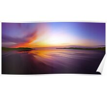Coast Awash Panorama Poster