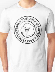 Steven&theCrystalGems - Ramones (black logo) T-Shirt