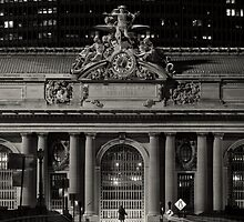 Grand Central Facade by Randy  Le'Moine