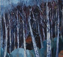 Birches I, Glossop Road by Cath  Dunn