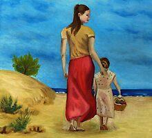 Sea side walk after Pino by Kostas Koutsoukanidis