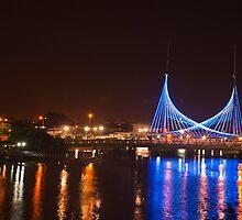 Velero - bridge near downtown Guayaquil by jestudios