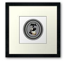 kung fu panda Framed Print