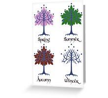 Tree of Gondor - Seasons Greeting Card
