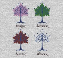 Tree of Gondor - Seasons by Angrahius
