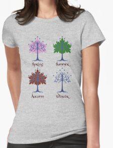 Tree of Gondor - Seasons Womens Fitted T-Shirt