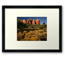 Sedona Coffee Pot Framed Print