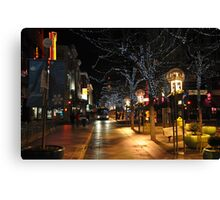 Downtown Denver, January Canvas Print