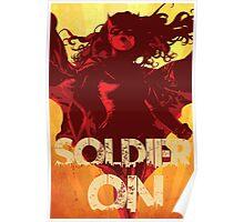 IwillSoldierON Poster