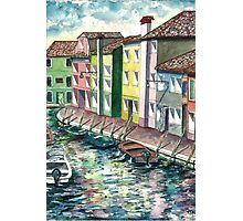 Mediterranean Seaport Photographic Print
