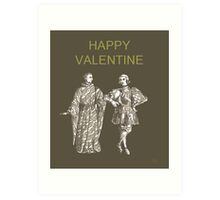 Be My Valentine, Two Men Art Print