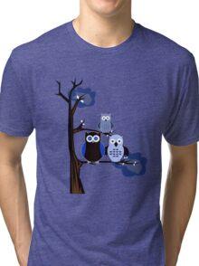 Blue Owls Tri-blend T-Shirt