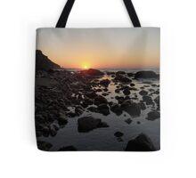 Lighthouse Cove Sunrise - Block Island Tote Bag