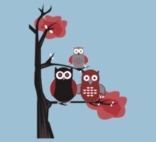 Red Owls Kids Clothes