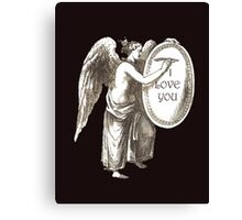 Angel I LOVE YOU Canvas Print