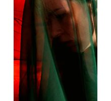 Through a Green Veil Photographic Print