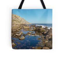 Lighthouse Cove Tidal Pool - Block Island Tote Bag