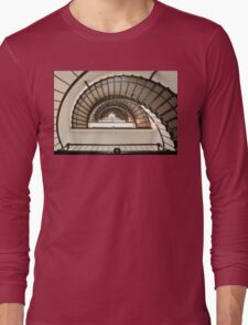 Stairway of the Sant Augustine Lighthouse Long Sleeve T-Shirt