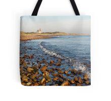 North Light Morning Glow - Block Island Tote Bag