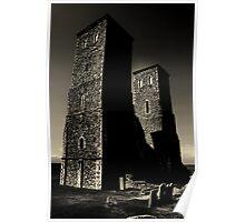 RECULVER TOWERS (English Heritage)  Poster