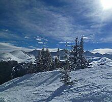 Copper Mountain ski resort by Jeanne Frasse