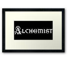Alchemist Framed Print