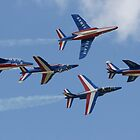 La Patrouille De France by Cliff Williams