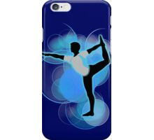 Super Smash Bros. Wii Fit Trainer (Male) Silhouette iPhone Case/Skin