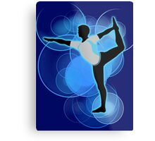 Super Smash Bros. Wii Fit Trainer (Male) Silhouette Metal Print