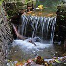 Little Waterfall by Willem Hoekstra