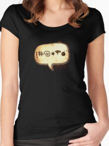 Bad Language Women's Fitted Scoop T-Shirt