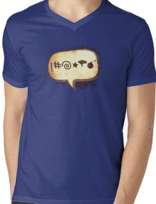 Bad Language Mens V-Neck T-Shirt