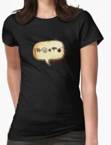 Bad Language Womens Fitted T-Shirt