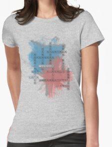 Fandom Scrabble Womens Fitted T-Shirt