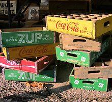 Soda Crates by Carolyn Venditto