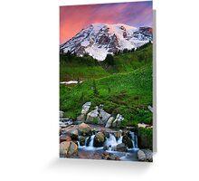 Blazing Dawn Greeting Card